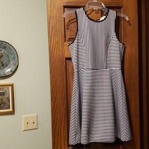 Striped tank dress
